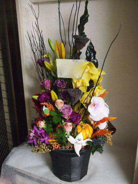 花ギフト|フラワーギフト|誕生日 花|カノシェ話題|スタンド花|ウエディングブーケ|花束|花屋|51612