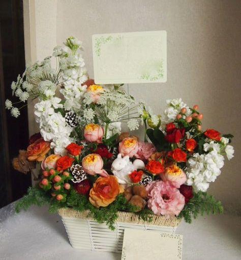 花ギフト|フラワーギフト|誕生日 花|カノシェ話題|スタンド花|ウエディングブーケ|花束|花屋|52600