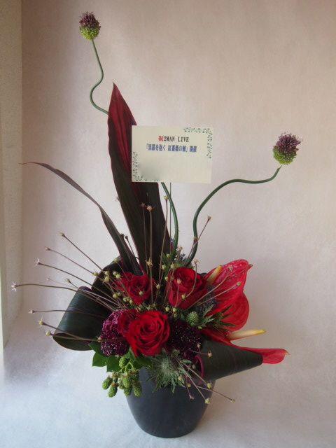 花ギフト|フラワーギフト|誕生日 花|カノシェ話題|スタンド花|ウエディングブーケ|花束|花屋|40942