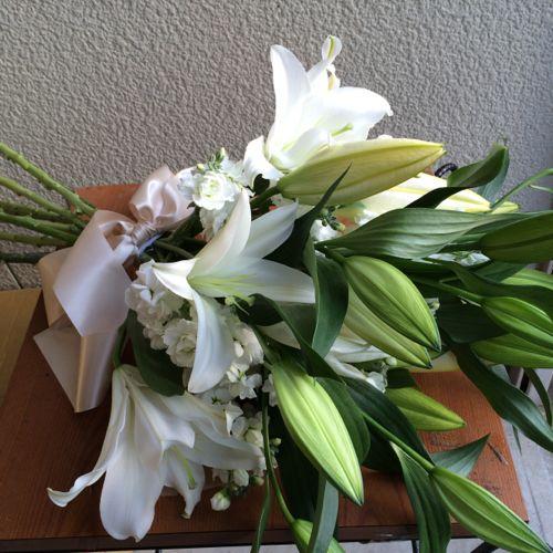 花ギフト|フラワーギフト|誕生日 花|カノシェ話題|スタンド花|ウエディングブーケ|花束|花屋|IMG_6756