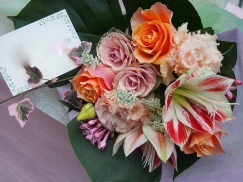 花ギフト|フラワーギフト|誕生日 花|カノシェ話題|スタンド花|ウエディングブーケ|花束|花屋|52932