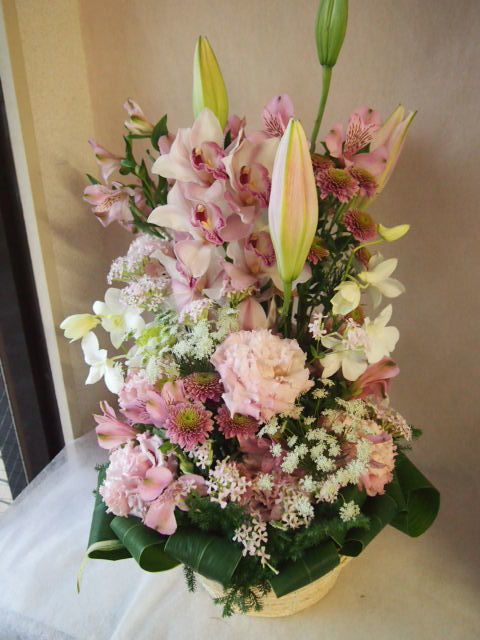 花ギフト|フラワーギフト|誕生日 花|カノシェ話題|スタンド花|ウエディングブーケ|花束|花屋|43969