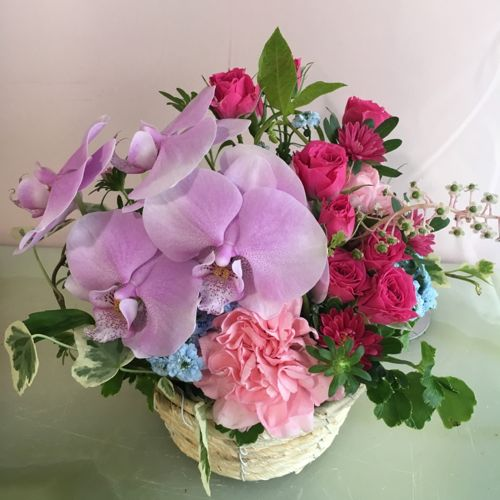 花ギフト|フラワーギフト|誕生日 花|カノシェ話題|スタンド花|ウエディングブーケ|花束|花屋|IMG_2705