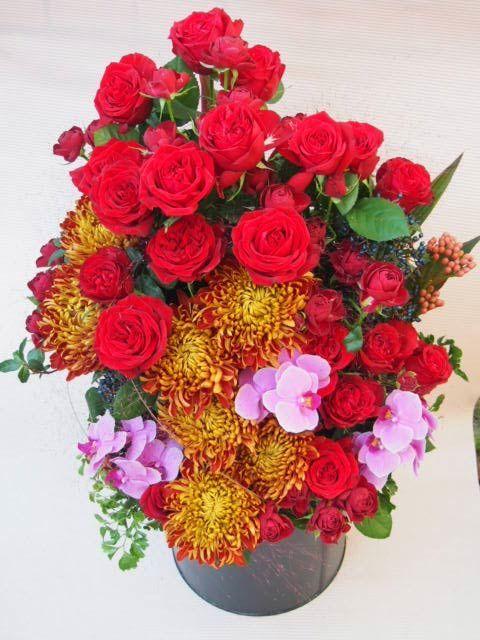 花ギフト|フラワーギフト|誕生日 花|カノシェ話題|スタンド花|ウエディングブーケ|花束|花屋|PA136606