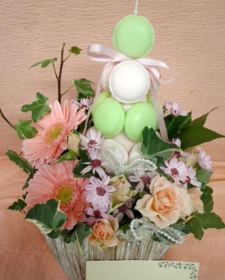 花ギフト|フラワーギフト|誕生日 花|カノシェ話題|スタンド花|ウエディングブーケ|花束|花屋|MAKARON-MISAKI