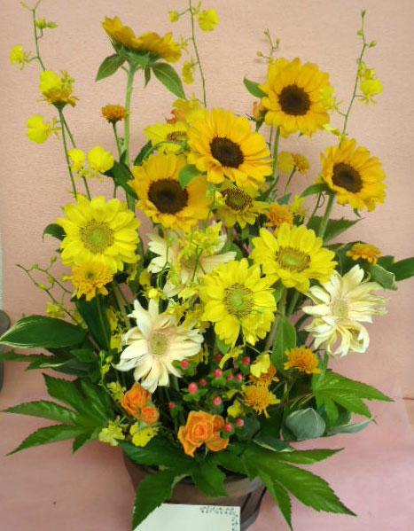 花ギフト|フラワーギフト|誕生日 花|カノシェ話題|スタンド花|ウエディングブーケ|花束|花屋|かよこ3