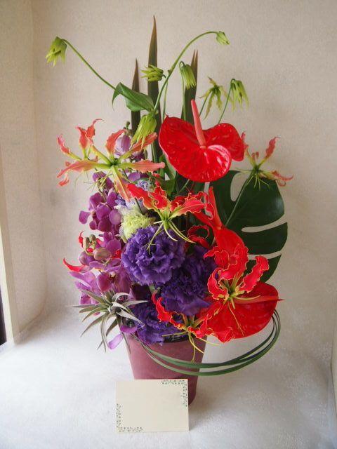 花ギフト|フラワーギフト|誕生日 花|カノシェ話題|スタンド花|ウエディングブーケ|花束|花屋|57121