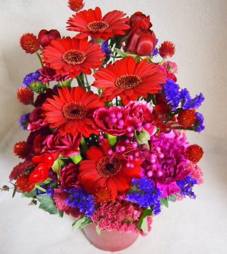 花ギフト|フラワーギフト|誕生日 花|カノシェ話題|スタンド花|ウエディングブーケ|花束|花屋|53473