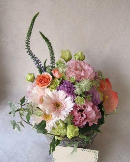 花ギフト|フラワーギフト|誕生日 花|カノシェ話題|スタンド花|ウエディングブーケ|花束|花屋|56927