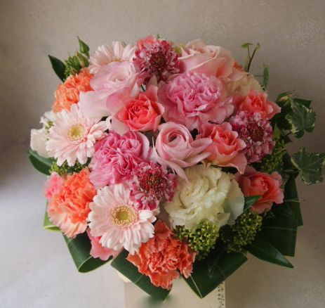 花ギフト|フラワーギフト|誕生日 花|カノシェ話題|スタンド花|ウエディングブーケ|花束|花屋|53006