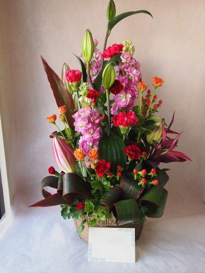 花ギフト|フラワーギフト|誕生日 花|カノシェ話題|スタンド花|ウエディングブーケ|花束|花屋|37186