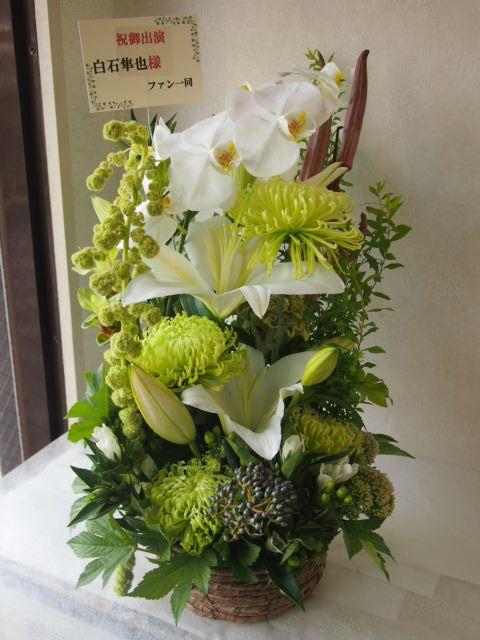 花ギフト|フラワーギフト|誕生日 花|カノシェ話題|スタンド花|ウエディングブーケ|花束|花屋|50046