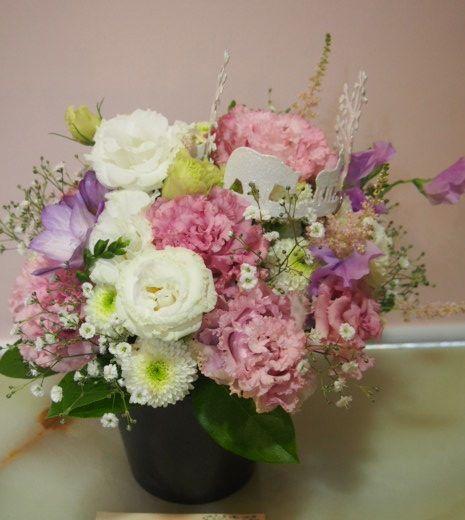 花ギフト|フラワーギフト|誕生日 花|カノシェ話題|スタンド花|ウエディングブーケ|花束|花屋|54485
