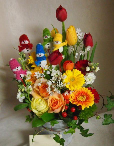 花ギフト|フラワーギフト|誕生日 花|カノシェ話題|スタンド花|ウエディングブーケ|花束|花屋|45909