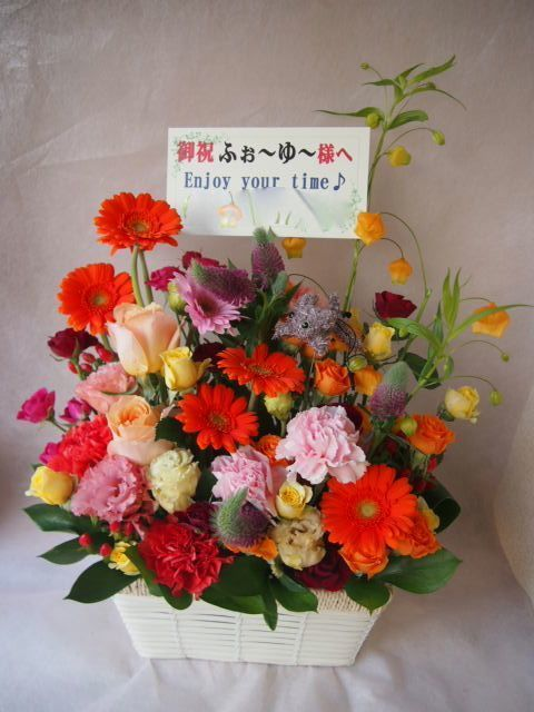 花ギフト|フラワーギフト|誕生日 花|カノシェ話題|スタンド花|ウエディングブーケ|花束|花屋|47525