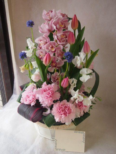 花ギフト|フラワーギフト|誕生日 花|カノシェ話題|スタンド花|ウエディングブーケ|花束|花屋|46107