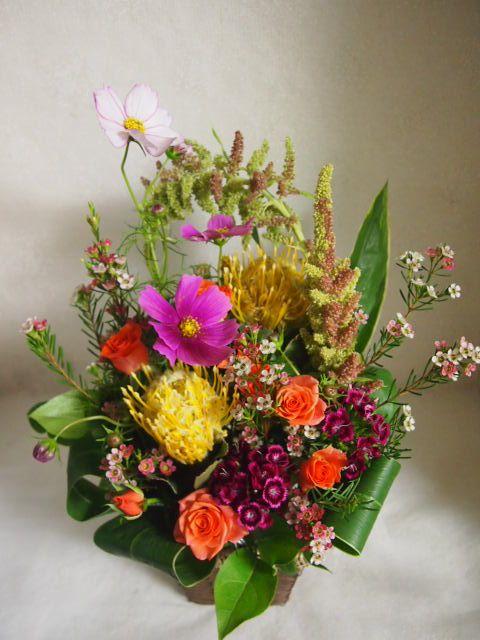 花ギフト|フラワーギフト|誕生日 花|カノシェ話題|スタンド花|ウエディングブーケ|花束|花屋|51248