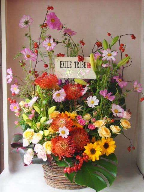 花ギフト|フラワーギフト|誕生日 花|カノシェ話題|スタンド花|ウエディングブーケ|花束|花屋|exile sama(1)