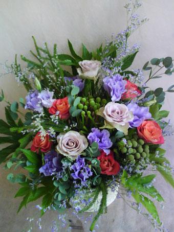 花ギフト|フラワーギフト|誕生日 花|カノシェ話題|スタンド花|ウエディングブーケ|花束|花屋|aki-amunesia