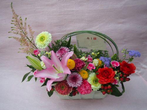 花ギフト|フラワーギフト|誕生日 花|カノシェ話題|スタンド花|ウエディングブーケ|花束|花屋|52291