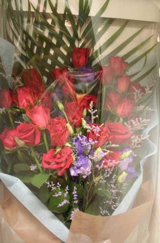 花ギフト|フラワーギフト|誕生日 花|カノシェ話題|スタンド花|ウエディングブーケ|花束|花屋|レッド