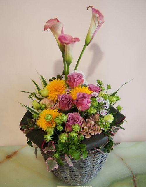花ギフト|フラワーギフト|誕生日 花|カノシェ話題|スタンド花|ウエディングブーケ|花束|花屋|57016