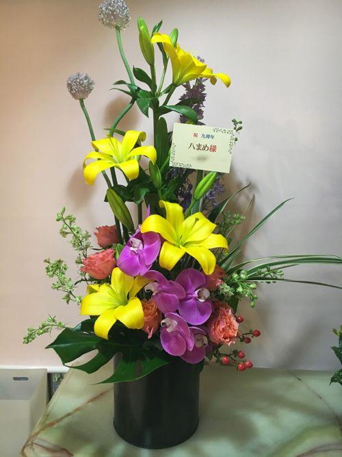 花ギフト|フラワーギフト|誕生日 花|カノシェ話題|スタンド花|ウエディングブーケ|花束|花屋|IMG_1307