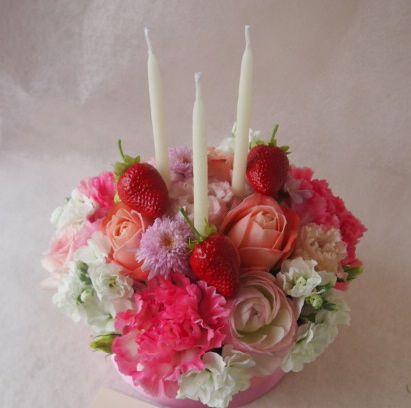 花ギフト|フラワーギフト|誕生日 花|カノシェ話題|スタンド花|ウエディングブーケ|花束|花屋|46967