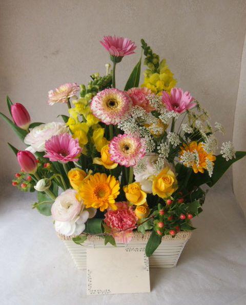 花ギフト|フラワーギフト|誕生日 花|カノシェ話題|スタンド花|ウエディングブーケ|花束|花屋|54534