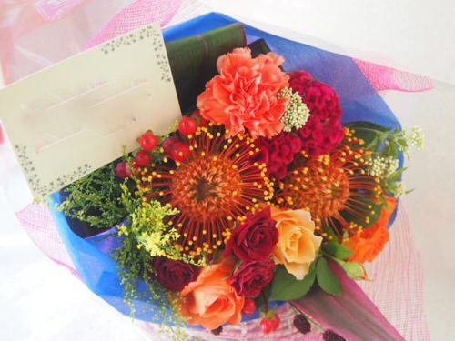 花ギフト|フラワーギフト|誕生日 花|カノシェ話題|スタンド花|ウエディングブーケ|花束|花屋|50994