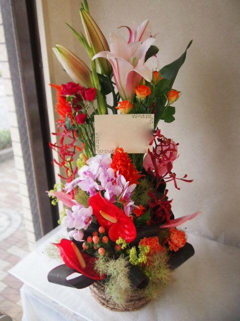 花ギフト|フラワーギフト|誕生日 花|カノシェ話題|スタンド花|ウエディングブーケ|花束|花屋|56711