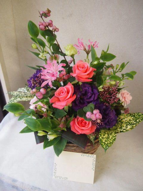 花ギフト|フラワーギフト|誕生日 花|カノシェ話題|スタンド花|ウエディングブーケ|花束|花屋|50758