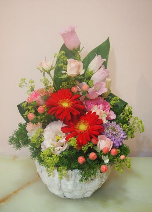 花ギフト|フラワーギフト|誕生日 花|カノシェ話題|スタンド花|ウエディングブーケ|花束|花屋|54480