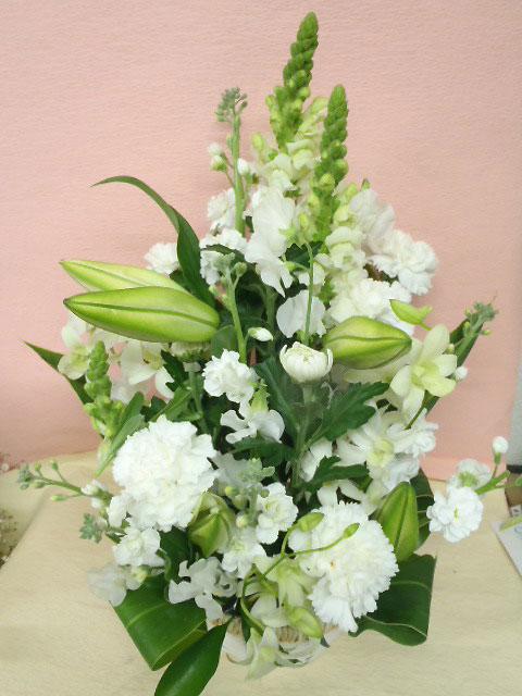 花ギフト フラワーギフト 誕生日 花 カノシェ話題 スタンド花 ウエディングブーケ 花束 花屋 chika-siro