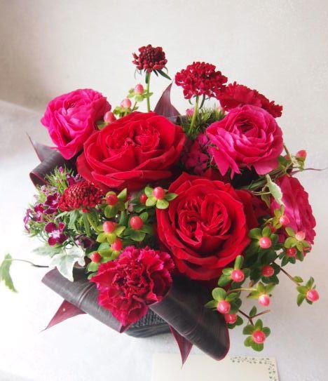 花ギフト|フラワーギフト|誕生日 花|カノシェ話題|スタンド花|ウエディングブーケ|花束|花屋|53550