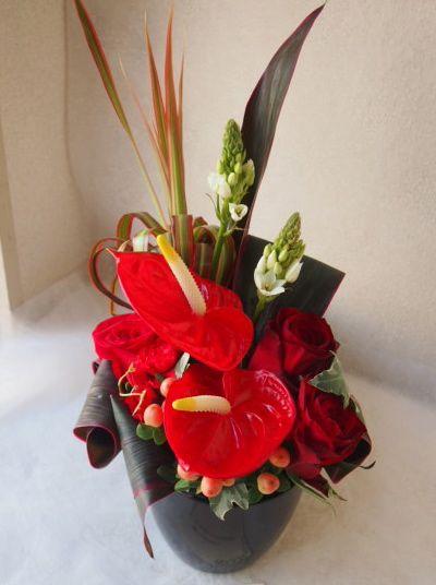 花ギフト|フラワーギフト|誕生日 花|カノシェ話題|スタンド花|ウエディングブーケ|花束|花屋|53802