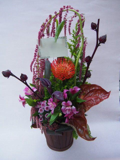 花ギフト|フラワーギフト|誕生日 花|カノシェ話題|スタンド花|ウエディングブーケ|花束|花屋|51681