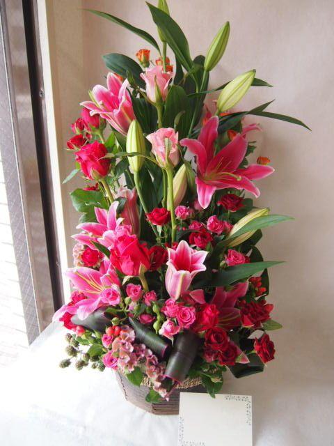 花ギフト|フラワーギフト|誕生日 花|カノシェ話題|スタンド花|ウエディングブーケ|花束|花屋|41135