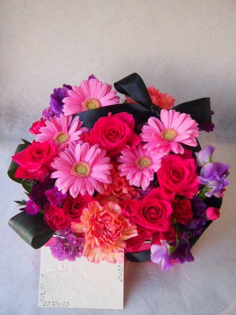 花ギフト|フラワーギフト|誕生日 花|カノシェ話題|スタンド花|ウエディングブーケ|花束|花屋|54466