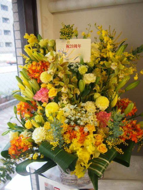 花ギフト|フラワーギフト|誕生日 花|カノシェ話題|スタンド花|ウエディングブーケ|花束|花屋|53954