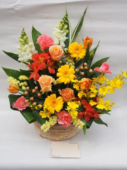 花ギフト|フラワーギフト|誕生日 花|カノシェ話題|スタンド花|ウエディングブーケ|花束|花屋|54732