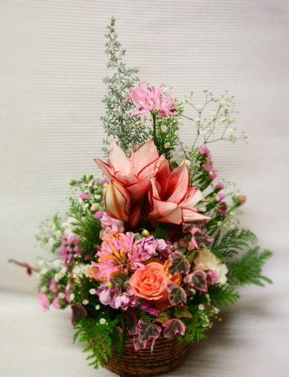 花ギフト|フラワーギフト|誕生日 花|カノシェ話題|スタンド花|ウエディングブーケ|花束|花屋|39465(2)