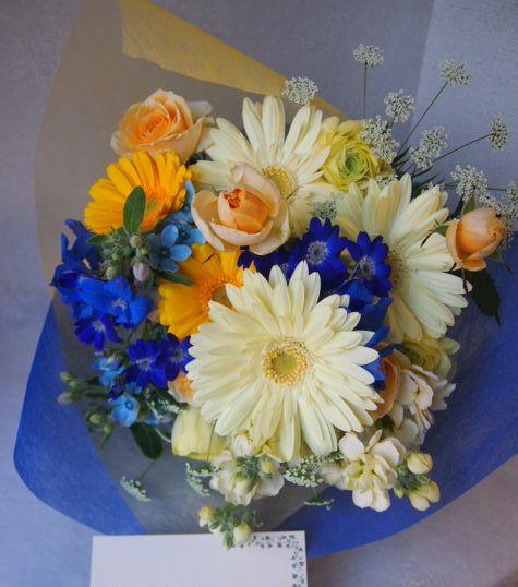 花ギフト|フラワーギフト|誕生日 花|カノシェ話題|スタンド花|ウエディングブーケ|花束|花屋|53642