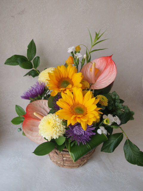 花ギフト|フラワーギフト|誕生日 花|カノシェ話題|スタンド花|ウエディングブーケ|花束|花屋|48547