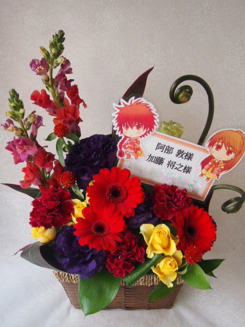 花ギフト|フラワーギフト|誕生日 花|カノシェ話題|スタンド花|ウエディングブーケ|花束|花屋|54325