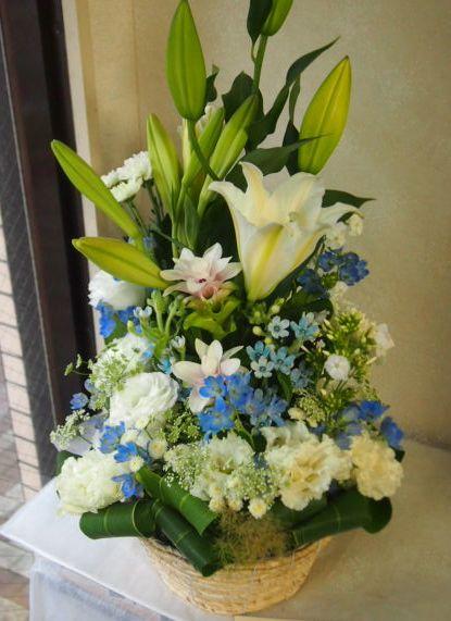 花ギフト|フラワーギフト|誕生日 花|カノシェ話題|スタンド花|ウエディングブーケ|花束|花屋|56661