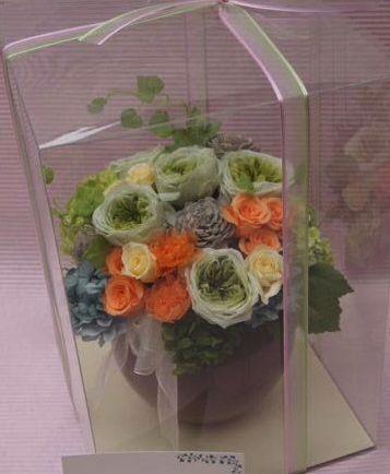 花ギフト フラワーギフト 誕生日 花 カノシェ話題 スタンド花 ウエディングブーケ 花束 花屋 00048133(2)