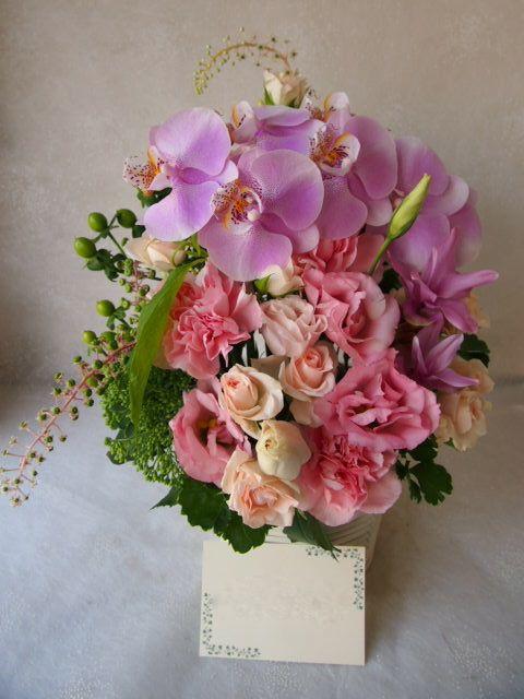 花ギフト|フラワーギフト|誕生日 花|カノシェ話題|スタンド花|ウエディングブーケ|花束|花屋|56962