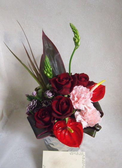 花ギフト|フラワーギフト|誕生日 花|カノシェ話題|スタンド花|ウエディングブーケ|花束|花屋|53492