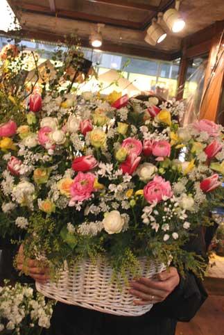 花ギフト|フラワーギフト|誕生日 花|カノシェ話題|スタンド花|ウエディングブーケ|花束|花屋|春の花